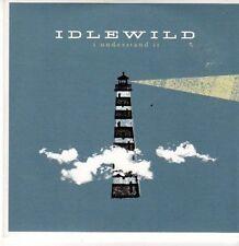 (CE715) Idlewild, I Understand It - 2005 DJ CD