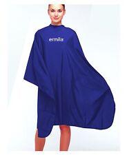 "ERMILA FRISEURUMHANG BLAU WASSERABWEISEND 135 X150 ""NEU"""