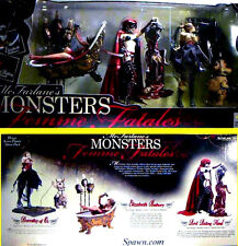 McFarlane Toys Monsters Femme Fatales 3 Figure Box Set Hood Bathory Dorothy New