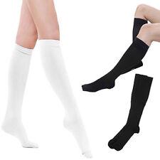 BG_ JT_ HK- Women Soft Solid Color Below Knee High Boot Tube Socks School Stocki