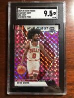 2019-20 Panini Mosaic Coby White Debut Pink Camo SGC 9.5