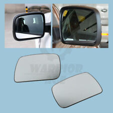 Pair Front Mirror Glass For Land Rover Land Rover Range Rover Sport LR2 LR4