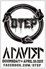 Otep Atavist Ltd Ed Discontinued Rare Sticker +Free Hard Rock/Metal/Alt Stickers