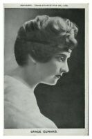 Antique printed postcard Grace Cunard actress film theatre stage