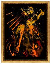 Pierre Fernandez Arman Colore Serigrafia Musica Violino Firmato Grande Moderna