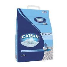 Catsan Hygiene Non Clumping Cat Litter - 20 Litre Bag x 2