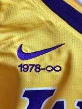 NEW KOBE BRYANT MAGLIA RARA LAKERS NBA NIKE JERSEY L M 1978-INFINITE RARE NEW