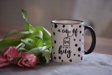 Tee Tasse Umarmung Geschenk Liebe Herz Familie Freunde Entspannung