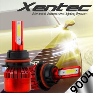 CREE 9004 HB1 LED Headlight Kit 488W 48800LM Hi-Low Beam 6500K Car Light Bulbs