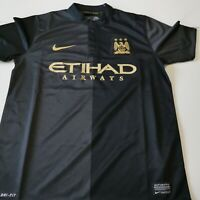 maillot  de football manchester city taille 10/12 ans NIKE foot
