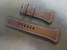 Bell & Ross BR-02 Santoni style leather strap band Cheergiant custom made straps