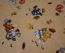 "18"" Precious Memories Bessie Pease Quilting Treasures 1930's Children Tan"