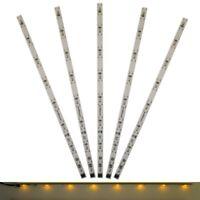 S672 - 5 Stück LED Innenbeleuchtung 230mm gelb Waggonbeleuchtung für Waggons