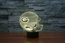 NFL Green Bay Packers Illusion Night Light Des 3D Acrylic LED 7colors USB