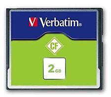 Carte Mémoire Compact Flash Verbatim - 2 Go - VERBATIM