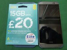 HTC ONE M8s opkv 100 (Argento) - EE