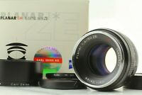 【MINT】 Carl Zeiss Planar T* 50mm F1.4 ZE Lens for Canon EF Mount from Japan Y241