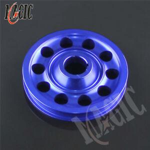Aluminum Crank Pulley Light Weight for Civic EK9 Integra DC2 Type R CTR BLUE