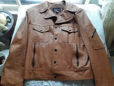 Vintage 1970s Leather Jacket