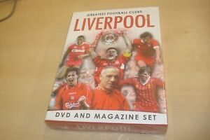Greatest Football Clubs: Liverpool (DVD/Book Gift Set) New and Sealed
