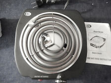 { Durabrand Electric Single Burner Hot Plate 1100 Watts SBS110-B.
