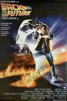 Michael J Fox Signed Back To The Future 24x36 Poster COA Private Signing HUGE!