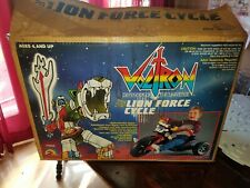 VINTAGE VOLTRON LION FORCE CYCLE IN BOX (BIG WHEELS) VHTF