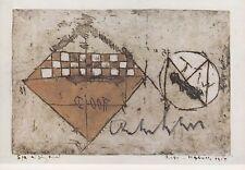 ANTON HEYBOER --- original signiert - 6#11a