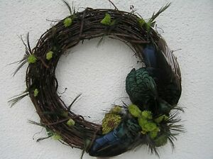 Feather Wreath by AMERICAN MOUNTED GAME BIRDS