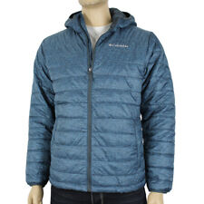 """New Mens Columbia """"Crested Butte"""" Hooded Omni-Heat Insulated Winter Jacket"""