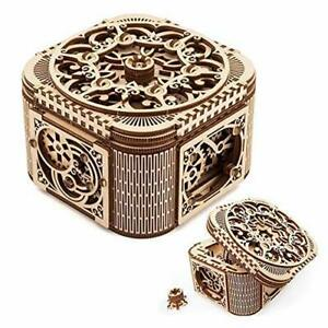 New Proposal Box Gifts Wooden Treasure Box with Key Secret Hidden Puzzle gift