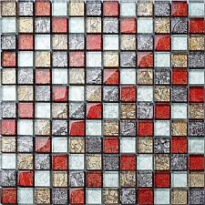 Mosaïque de Verre Mur Carrelage Hong Kong automne Mix salle de bains bassin douche MT0091