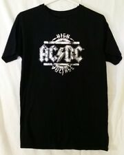 AC/DC High Voltage Rockware Ladies Women Small T-Shirt Pre-Owned Metallic Silver