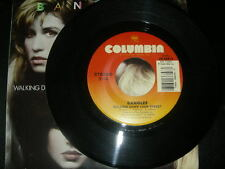"""Pop  45 Bangles """"Walking Down Your Street/ Let It Go"""" Columbia NM 1986"""