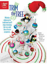 Trim the Tree Christmas Crochet Patterns Victorian & Whimsical  Annies Attic NEW