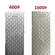 400#/1000# Diamond Sharpening Plate Stone Polished Whetstone Polishing Tools