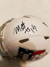 MYLES GARRETT TEXAS A&M AGGIES SIGNED MINI HELMET W/COA