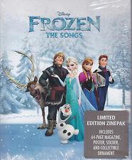 Disney Frozen - The Songs - Limited Edition ZinePak 64-Page Magazine, etc.