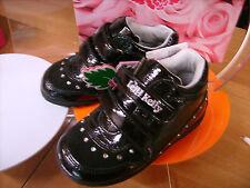 Scarpe bambina shoes LELLI KELLY NR. 25 in pelle nera e strass NUOVA!