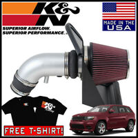 K /& N 77-1567KS High-Flow Air Intake System For 12-15 Grand Cherokee 6.4L V8 F//I