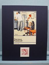 Jonas Salk Defeats Polio & Norman Rockwell's Before The Shot & its own stamp