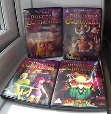 Dungeons and Dragons (1983 animated)  27 episodes Complete Series Vols 1-4 DVD
