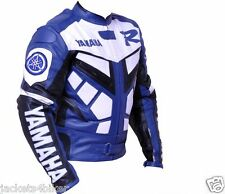 YAMAHA R RACER BIKER JACKET MOTORBIKE LEATHER JACKET MOTORCYCLE LEATHER JACKETS