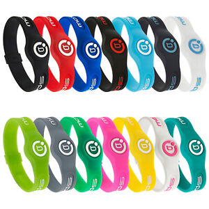 Bioflow Sport Magnetic Silicone Therapy Recovery Wristband Bracelet Gym Golf