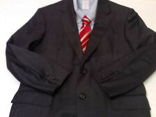 Oxxford Clothes Men's Charcoal Super 110s 2 Btn Sports Jacket Bespoke 42 R