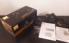 Nikon D3200 Corpo. (19.123 scatti) 24.2 MegaPixel, Foto&Video. Nuova