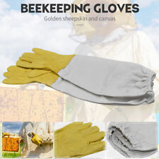 New Listingbeekeeping Protective Gloves Long Sleeves Beekeeper Vented Professional C9wixampgf