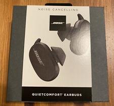 Bose QuietComfort Wireless Earbuds In-Ear Headphones - Triple Black