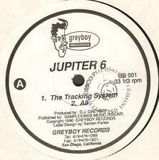 JUPITER 6  - The Tracking System - 1990 - Greyboy - GB 001 - Usa