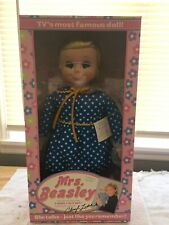 Mrs. Beasley Talking Doll Family Affair Tv Show Voice of Cheryl Ladd Nib W/ Coa